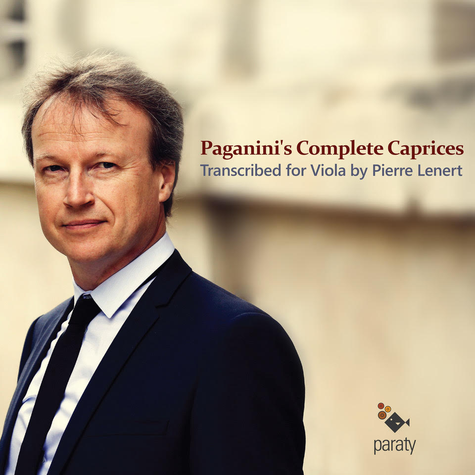 Paganini's Complete Caprices / Trascribed for Viola by Pierre Lenert