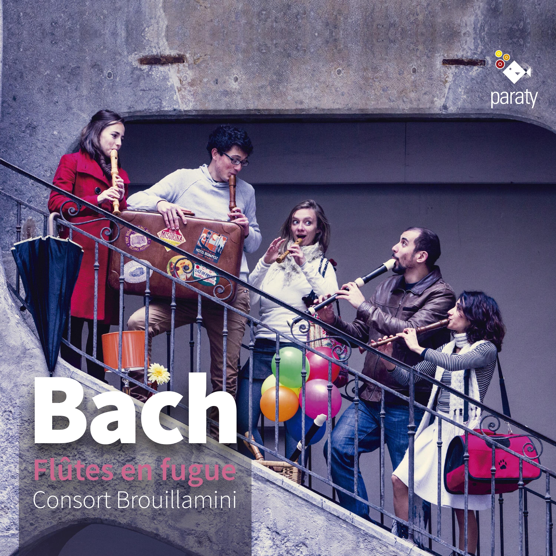 Bach flûtes en fugue