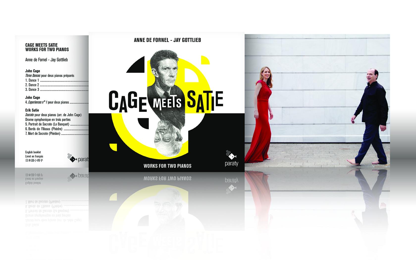 "Critique Resmusica ""Cage meets Satie"" | Anne de Fornel & Jay Gottlieb"