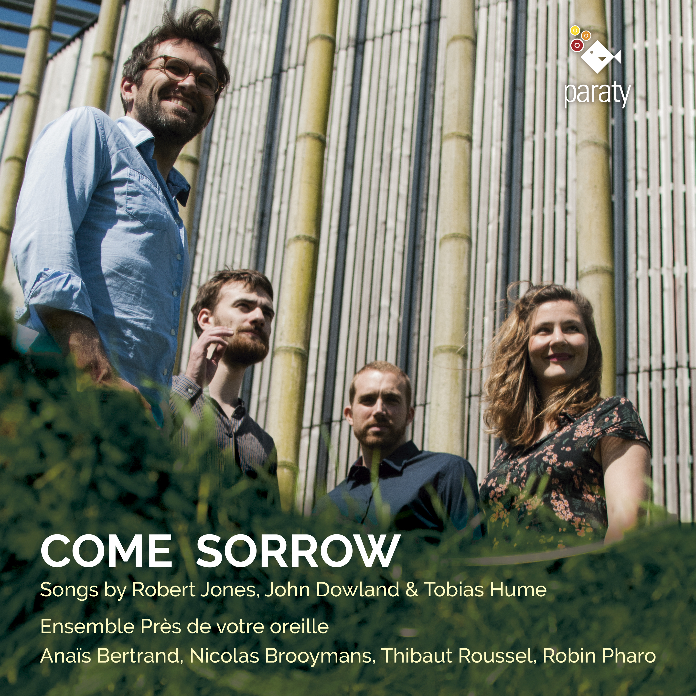 Come Sorrow, Songs by Robert Jones, Johan Dowland & Tobias Hume