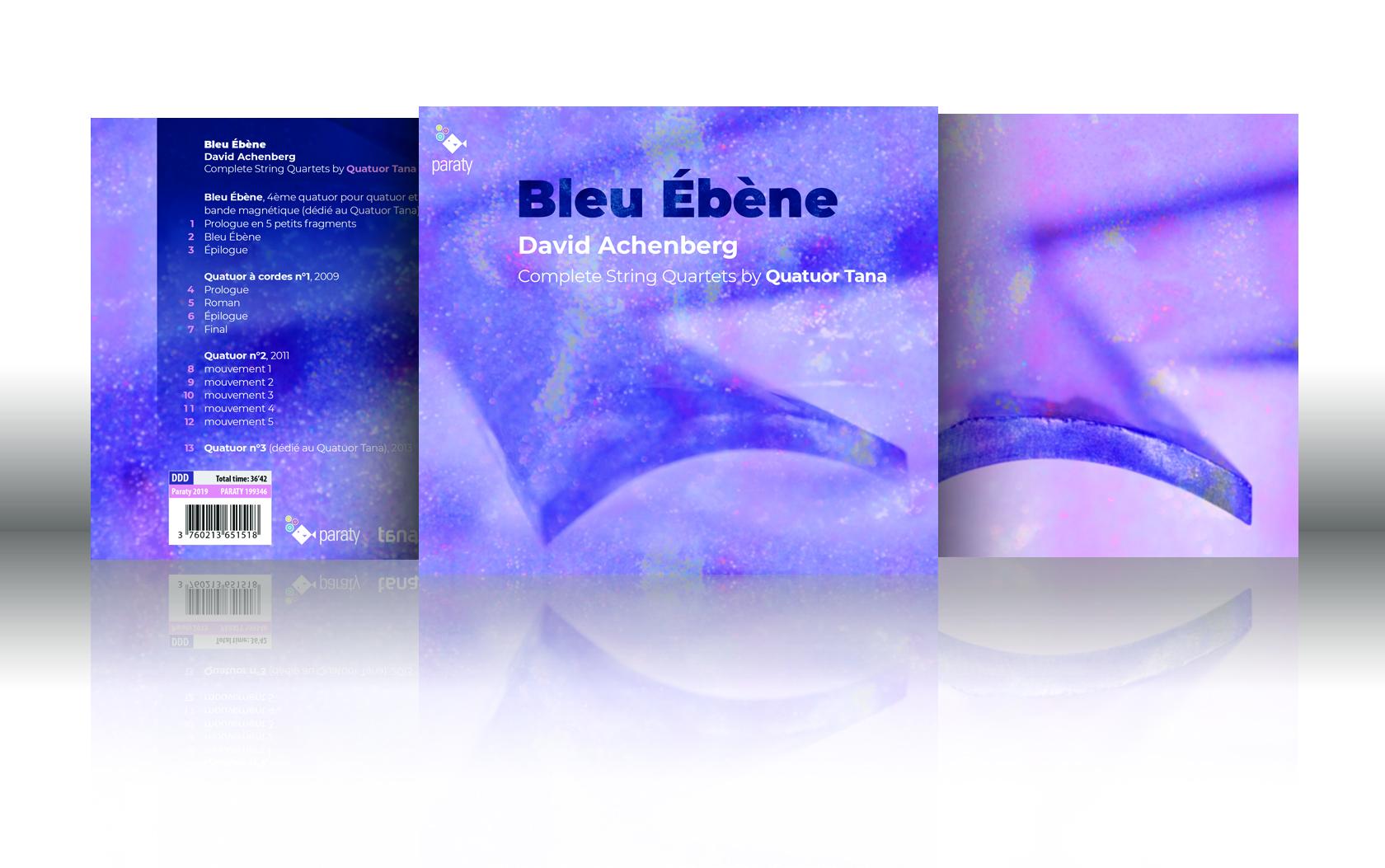 Bleu Ebène du Quatuor Tana nominé aux Octaves de la Musique