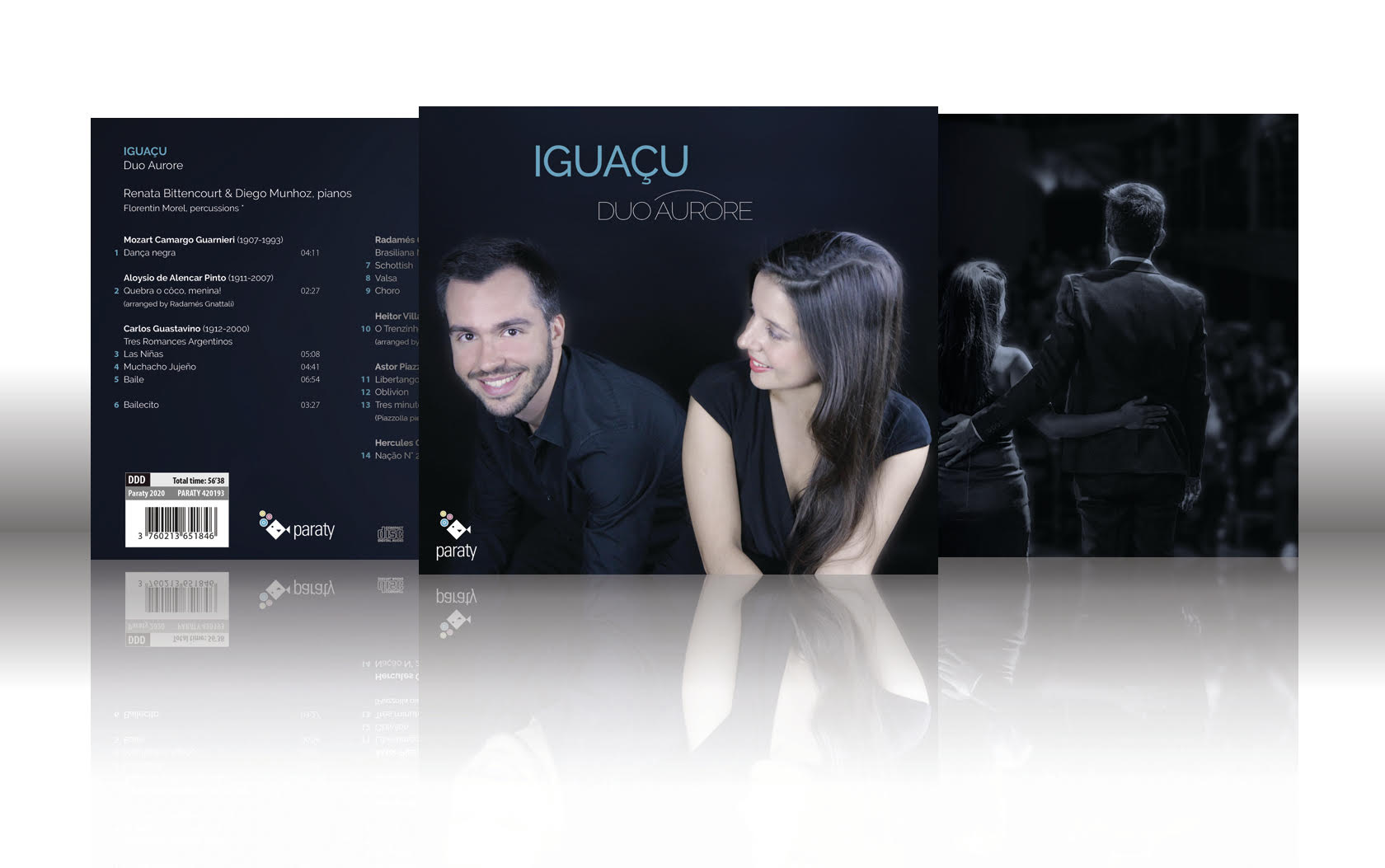 Sortie le 15 mai du CD Iguaçu | duo Aurore