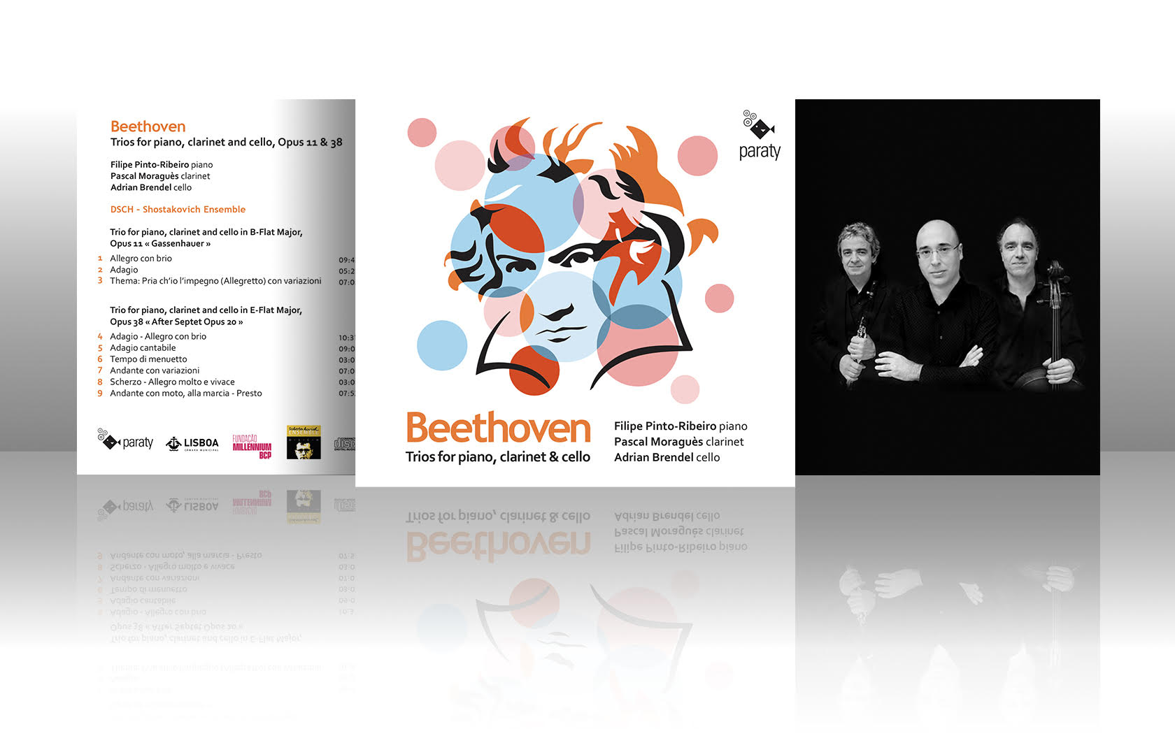 "Sortie CD ""Beethoven, Trio for piano, clarinet & cello"""