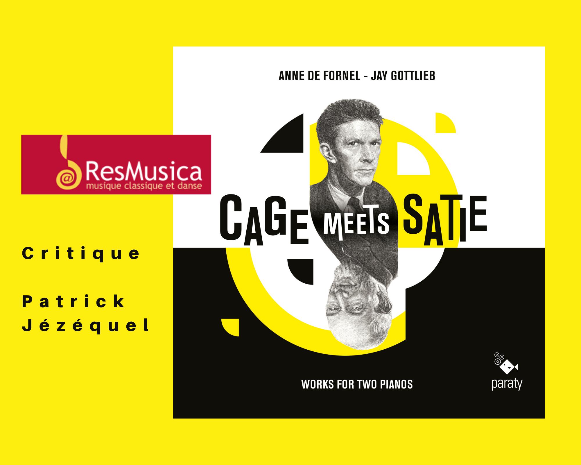 Presse cage meets Satie
