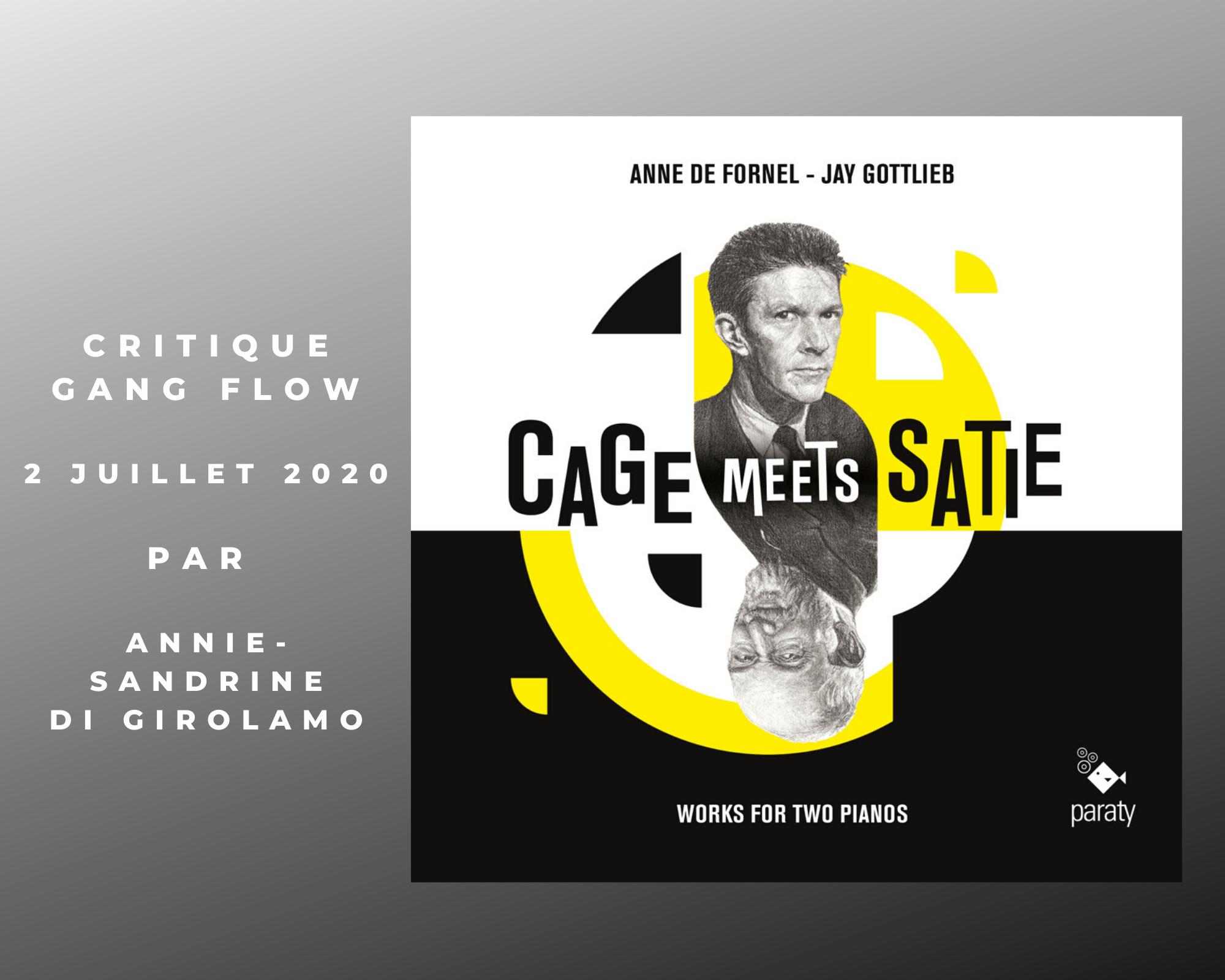 Cage satie juillet
