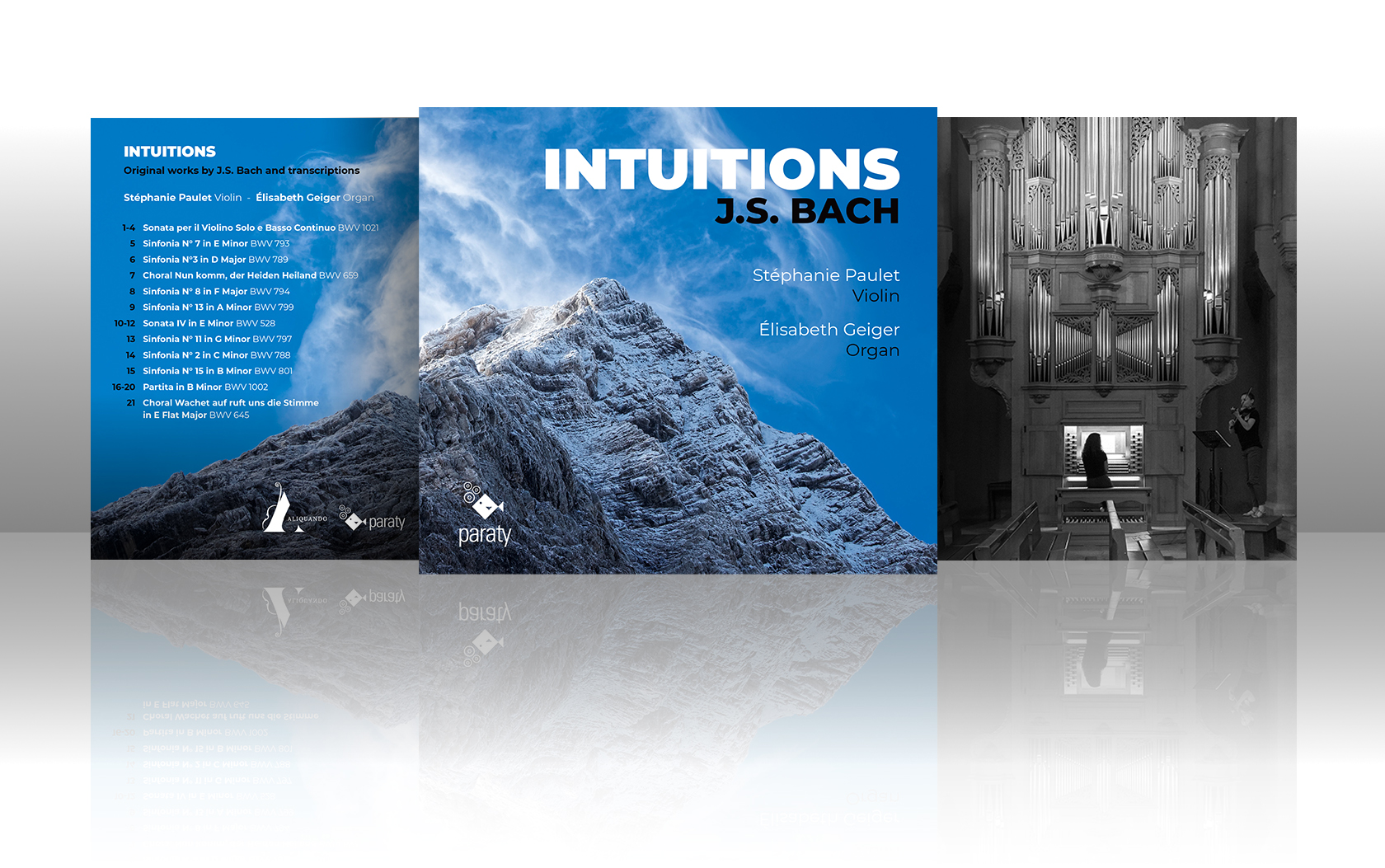 Sortie CD INTUITIONS