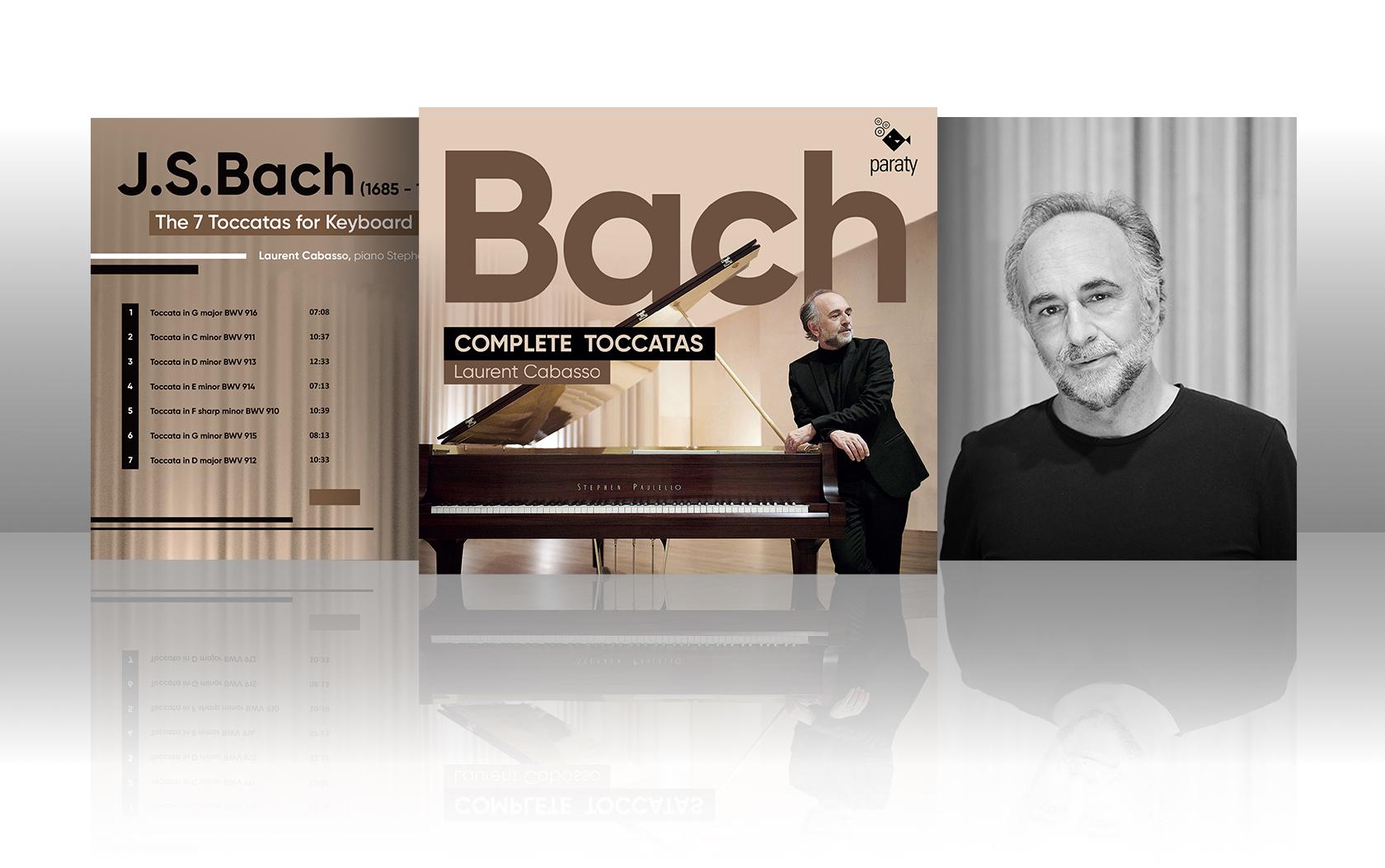 Sortie CD Bach Complete Toccatas | Laurent Cabasso