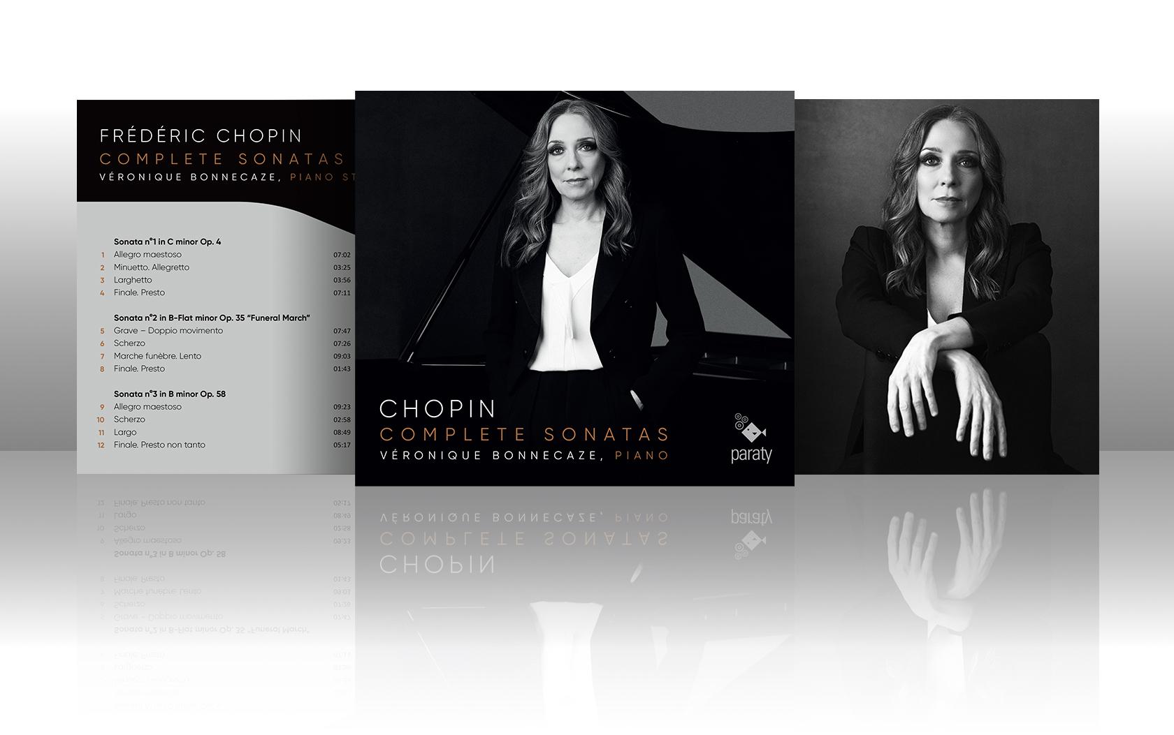Sortie CD Chopin Complete Sonatas | Véronique Bonnecaze