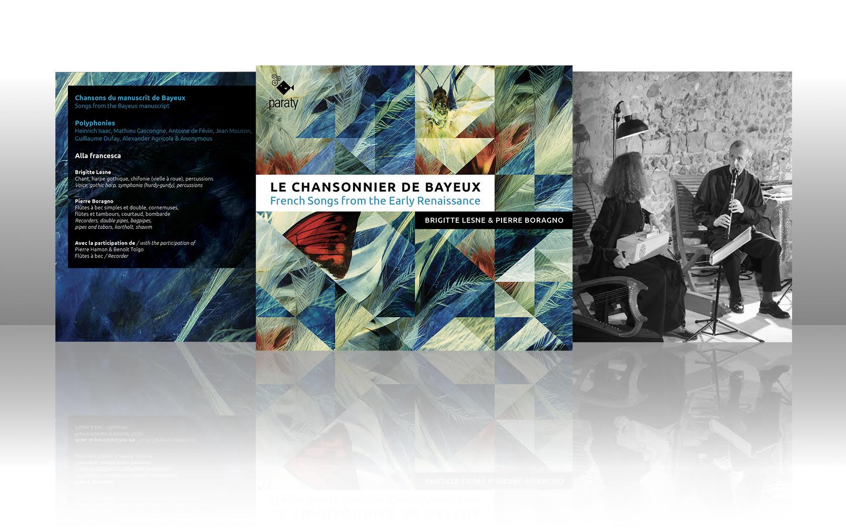 Sortie CD | Le Chansonnier de Bayeux | Brigitte Lesne & Pierre Boragno
